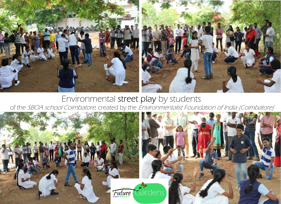 street play collage